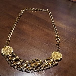 Authentic KATE HINES Chain Belt